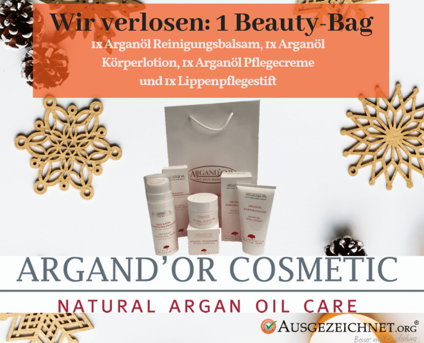 Gewinn Argaöl Produkte Beauty Bag
