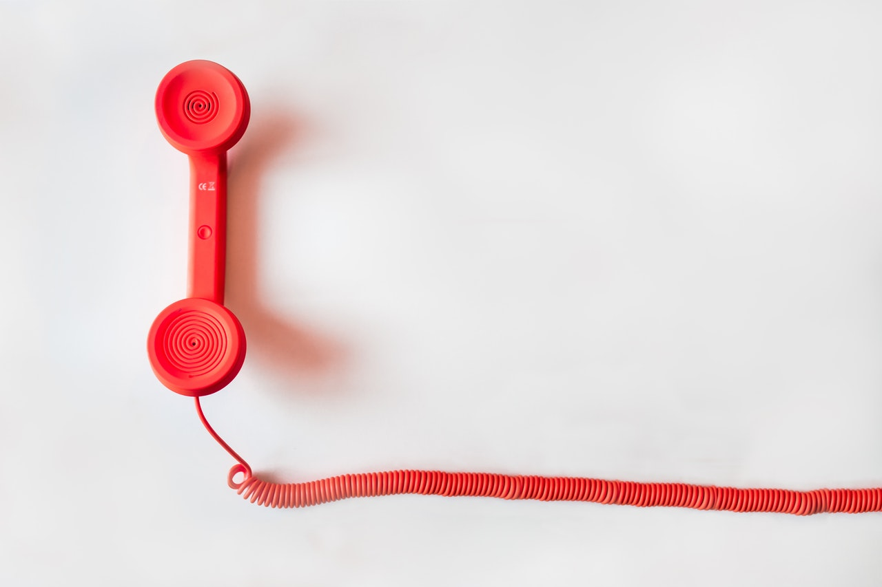 Excellent.org: red telephone receiver